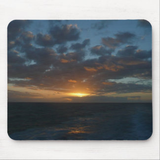 Sunrise at Sea II Ocean Seascape Photography Mouse Pad