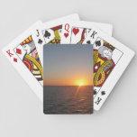 Sunrise at Sea III Deck Of Cards