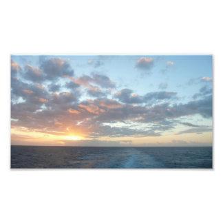 Sunrise at Sea Photo Print