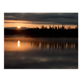 Sunrise at South Rolly Lake Post Card