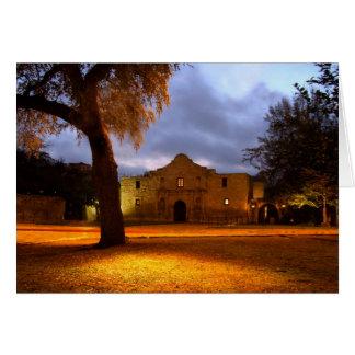 Sunrise At The Alamo Card