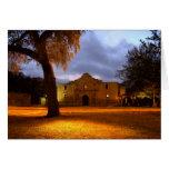 Sunrise At The Alamo Greeting Card