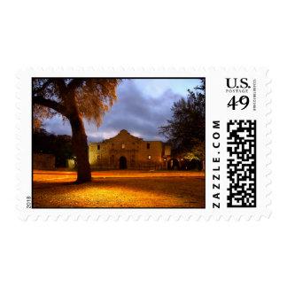 Sunrise At The Alamo Stamp