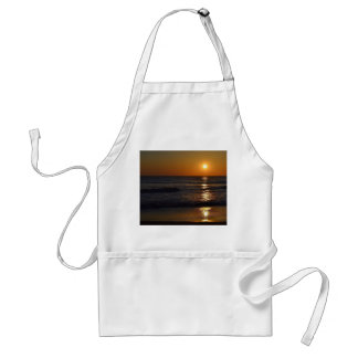 Sunrise at the Beach by Shirley Taylor Adult Apron