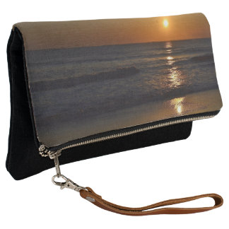 Sunrise at the Beach by Shirley Taylor Clutch