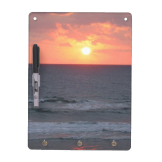 Sunrise At The Beach Dry Erase Board