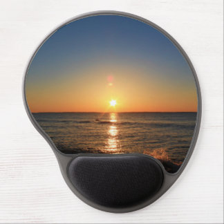 Sunrise At The Breakwater in Rockland, Maine Gel Mouse Pad