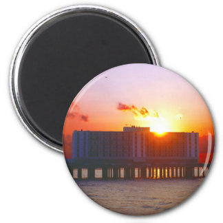 Sunrise At The Flagship Hotel Magnets