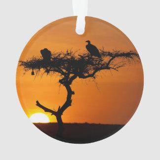 Sunrise at the Masai Mara, Kenya Ornament