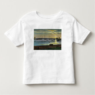 Sunrise at the Old Harbor Toddler T-shirt