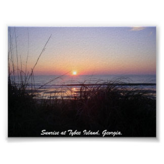 Sunrise at Tybee Island,... Posters