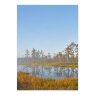 Sunrise at Viru Bog, Estonia Card