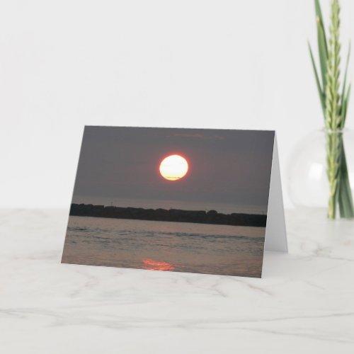 Sunrise Ball Card card