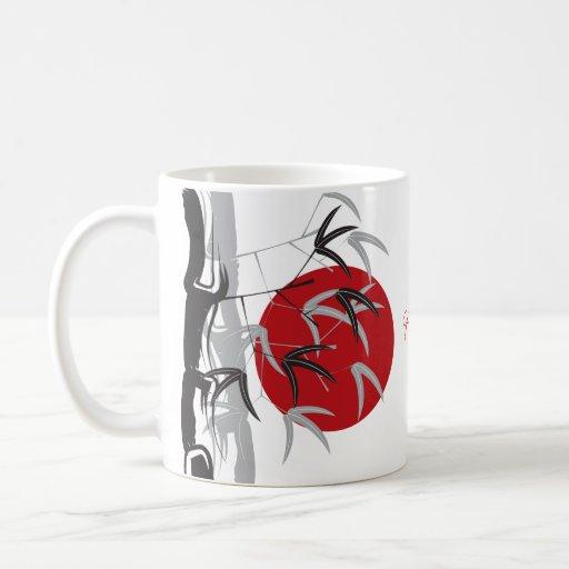 Sunrise Bamboo Garden Zen Custom Gift Mug