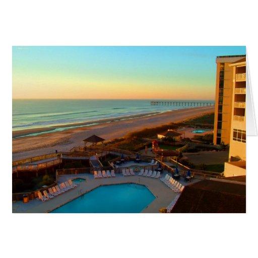 Sunrise Beach Card