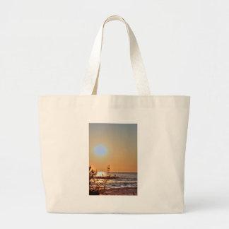 Sunrise Beach Ocean Seaview Oceanview Photos Pics Canvas Bag