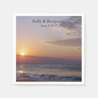 Sunrise Beach Paper Napkin