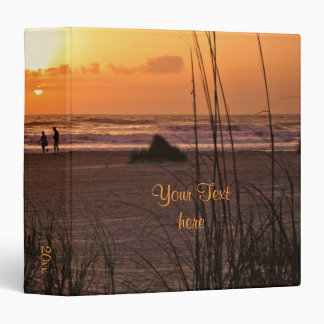 "Sunrise Beach Walk 1.5"" Vacation Binder"