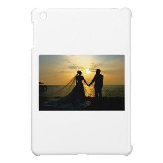 Sunrise Beach Wedding iPad Mini Cover