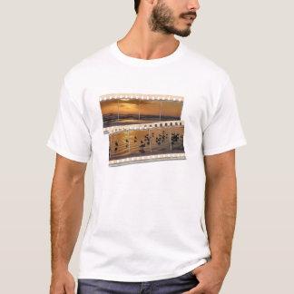 Sunrise Beach with Shorebirds T-Shirt