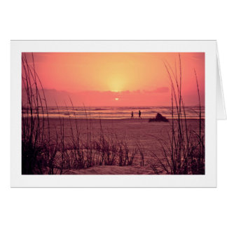 Sunrise Beachwalker Card