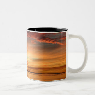 Sunrise Beautiful Day Two-Tone Coffee Mug