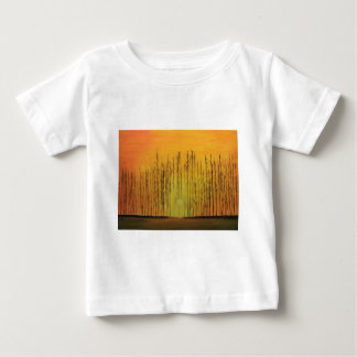 Sunrise Behind the Trees Baby T-Shirt