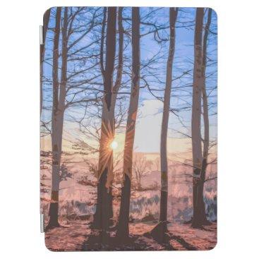 Sunrise Behind the Woods Artwork   iPad Air Case