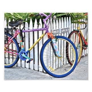 Sunrise Bikes on Fleming Photo Print