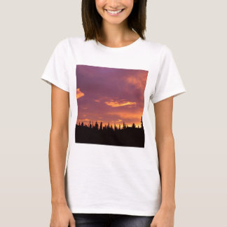 Sunrise Boreal Forest Alaska T-Shirt