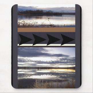 Sunrise Bosque del Apache NWR Wildlife Refuge Mouse Pad