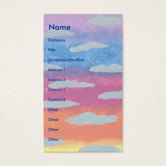 Sunrise Business Card