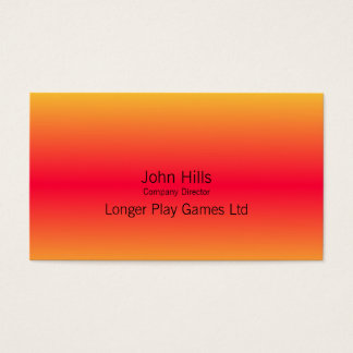 Sunrise business cards ready to add your logo