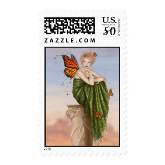 Sunrise Butterfly Fairy Postage
