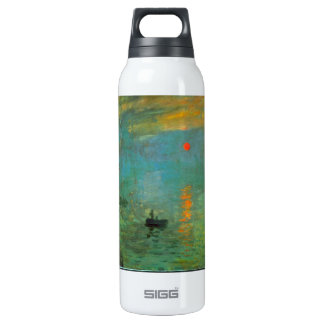 Sunrise by Claude Monet Insulated Water Bottle
