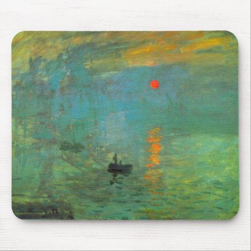 Sunrise by Claude Monet Mousepad
