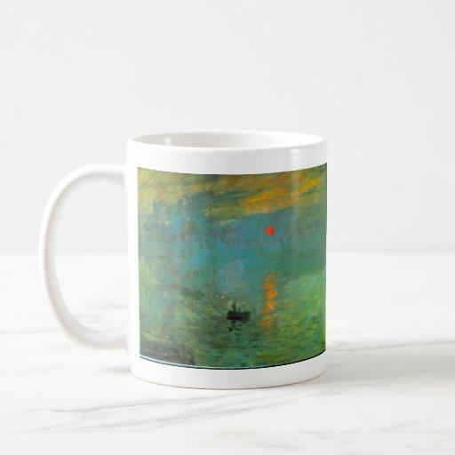 Sunrise by Claude Monet Coffee Mug