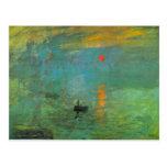 Sunrise by Claude Monet Postcard
