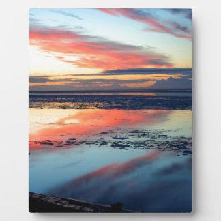Sunrise Candyfloss Photo Plaques