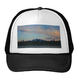 Sunrise Cascade Mountains Oregon Trucker Hat