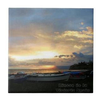 Sunrise Ceramic Photo Tile