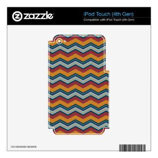 Sunrise Chevron iPod Touch 4G Skin
