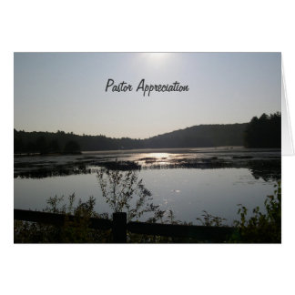 Sunrise Clergy Appreciation Card
