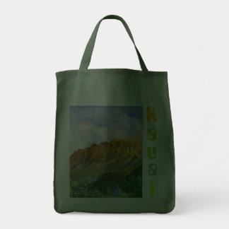 Sunrise Cliffs Kauai Hawaii Canvas Bags