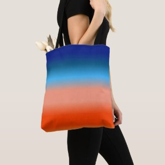 Sunrise Colors Gradient Tote Bag