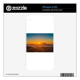 Sunrise Decal For The iPhone 4S