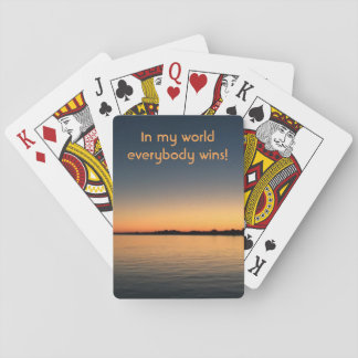 Sunrise Deck of Playing Cards