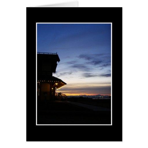 Sunrise Depot Greeting Card