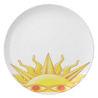 Sunrise Dinner Plate