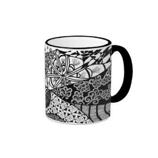 Sunrise Doodle Art Mug